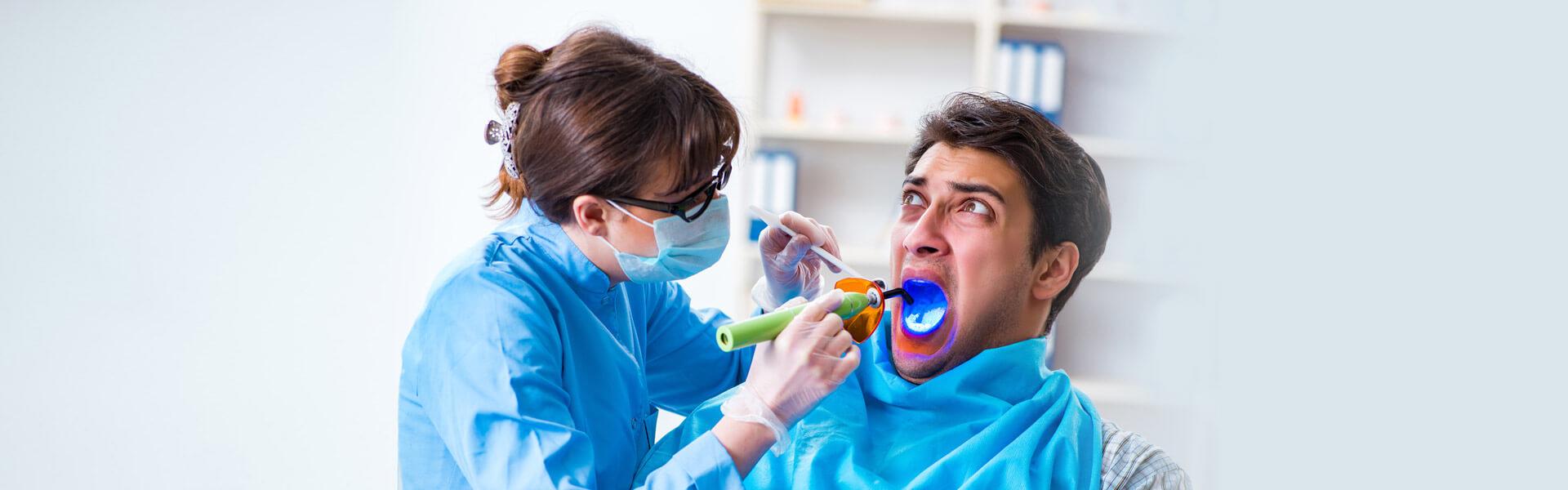 ترس از بیحسی دهان و دندان